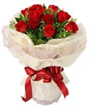 12 adet kırmızı gül buketi  Eskişehir anneler günü çiçek yolla