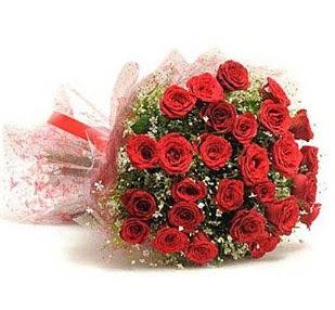 27 Adet kırmızı gül buketi  Eskişehir ucuz çiçek gönder