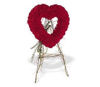 Eskişehir internetten çiçek satışı  karanfillerden kalp pano
