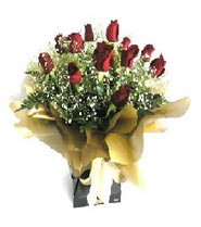 Eskişehir internetten çiçek siparişi  11 adet kirmizi gül  buketi