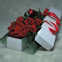Eskişehir online çiçek gönderme sipariş  11 adet gülden kutu