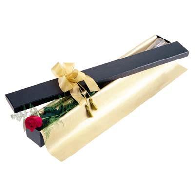 Eskişehir uluslararası çiçek gönderme  tek kutu gül özel kutu