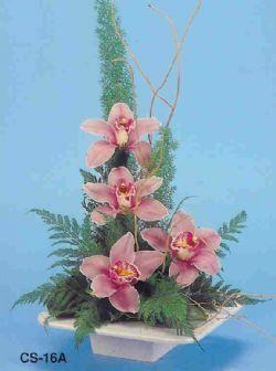 Eskişehir çiçekçi telefonları  vazoda 4 adet orkide