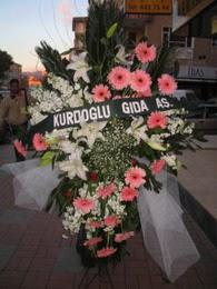 kazablanka,gerbera,sebboy ferforje  Eskişehir çiçekçi mağazası