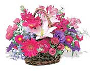 küçük karisik özel sepet   Eskişehir çiçek online çiçek siparişi