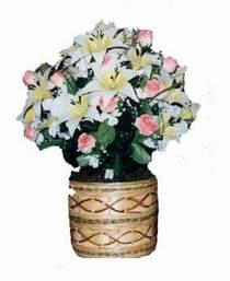 yapay karisik çiçek sepeti   Eskişehir çiçek servisi , çiçekçi adresleri