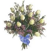 bir düzine beyaz gül buketi   Eskişehir çiçek gönderme sitemiz güvenlidir