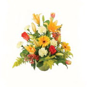 karisik renkli çiçekler tanzim   Eskişehir çiçek gönderme sitemiz güvenlidir