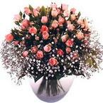 büyük cam fanusta güller   Eskişehir çiçek yolla