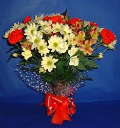 Eskişehir hediye çiçek yolla  kir çiçekleri buketi mevsim demeti halinde