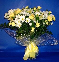 Eskişehir hediye çiçek yolla  sade mevsim demeti buketi sade ve özel