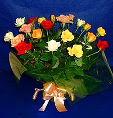 Eskişehir hediye çiçek yolla  13 adet karisik renkli güller