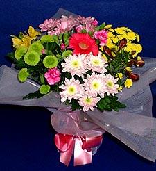Eskişehir hediye çiçek yolla  küçük karisik mevsim demeti