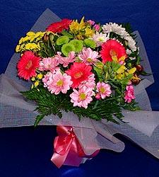 karisik sade mevsim demetligi   Eskişehir 14 şubat sevgililer günü çiçek