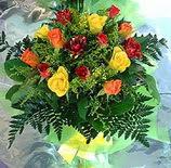 13 adet karisik gül buketi demeti   Eskişehir uluslararası çiçek gönderme