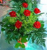 6 adet kirmizi gül buketi   Eskişehir online çiçek gönderme sipariş