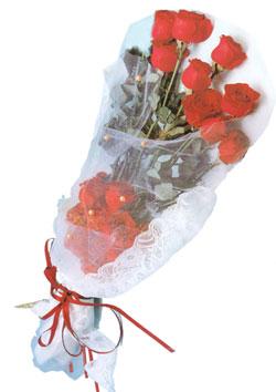 11 adet kirmizi güller buket tanzimi   Eskişehir çiçek siparişi sitesi