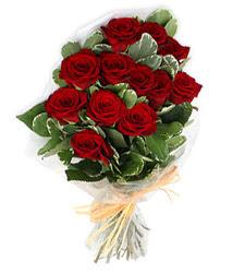 Eskişehir çiçek yolla , çiçek gönder , çiçekçi   9 lu kirmizi gül buketi.