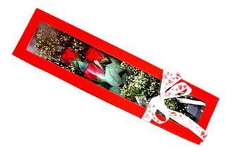 Eskişehir hediye çiçek yolla  Kutuda 3 adet gül