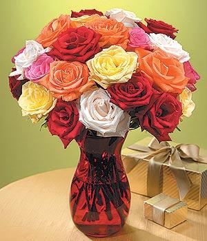 Eskişehir anneler günü çiçek yolla  13 adet renkli gül