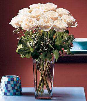 Eskişehir hediye sevgilime hediye çiçek  Cam yada mika vazo içerisinde 12 gül