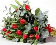 Eskişehir çiçek satışı  11 adet kirmizi gül buketi özel günler için