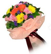 Eskişehir çiçekçi mağazası  Karisik mevsim çiçeklerinden demet