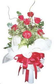 Eskişehir çiçek siparişi sitesi  7 adet kirmizi gül buketi