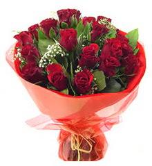 Eskişehir anneler günü çiçek yolla  11 adet kimizi gülün ihtisami buket modeli
