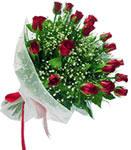Eskişehir internetten çiçek satışı  11 adet kirmizi gül buketi sade ve hos sevenler
