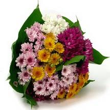 Eskişehir çiçekçi telefonları  Karisik kir çiçekleri demeti herkeze