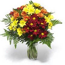 Eskişehir çiçek siparişi sitesi  Karisik çiçeklerden mevsim vazosu