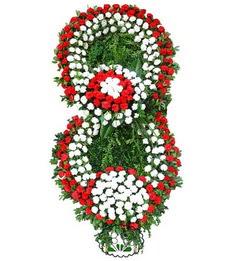 Görsel Cenaze çiçek , cenaze çiçek , çelengi  Eskişehir uluslararası çiçek gönderme