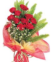 11 adet kaliteli görsel kirmizi gül  Eskişehir çiçek satışı
