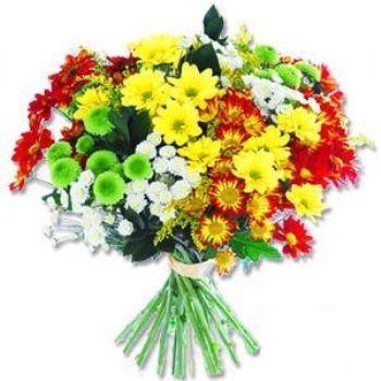 Kir çiçeklerinden buket modeli  Eskişehir online çiçek gönderme sipariş