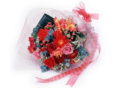 Karisik buket çiçek modeli sevilenlere  Eskişehir uluslararası çiçek gönderme