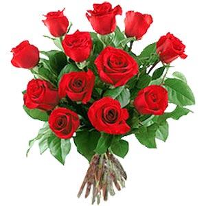 11 adet bakara kirmizi gül buketi  Eskişehir güvenli kaliteli hızlı çiçek