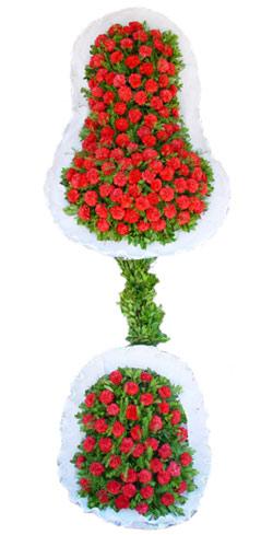 Dügün nikah açilis çiçekleri sepet modeli  Eskişehir cicek , cicekci
