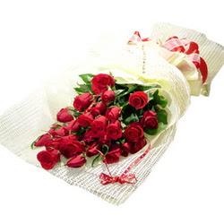 Çiçek gönderme 13 adet kirmizi gül buketi  Eskişehir çiçek satışı