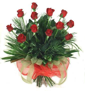Çiçek yolla 12 adet kirmizi gül buketi  Eskişehir güvenli kaliteli hızlı çiçek