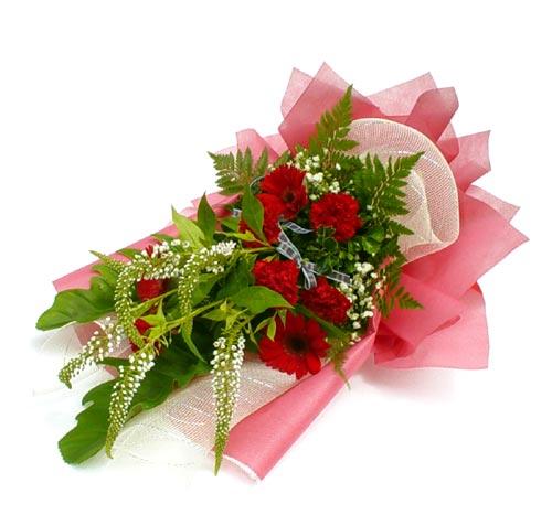 Karisik çiçek buketi mevsim buket  Eskişehir çiçek siparişi sitesi