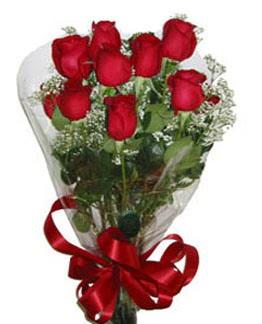 Çiçek sade gül buketi 7 güllü buket  Eskişehir online çiçek gönderme sipariş