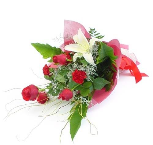 Mevsim çiçeklerinden karisik buket  Eskişehir cicek , cicekci