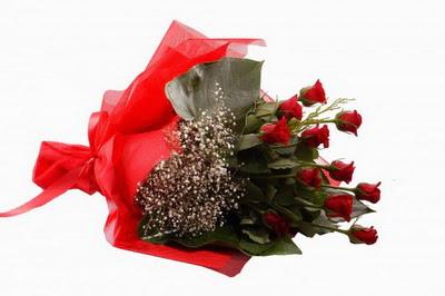 Eskişehir çiçek siparişi sitesi  11 adet kirmizi gül buketi çiçekçi