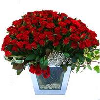 Eskişehir çiçekçiler   101 adet kirmizi gül aranjmani
