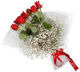 7 adet essiz kalitede kirmizi gül buketi  Eskişehir hediye sevgilime hediye çiçek