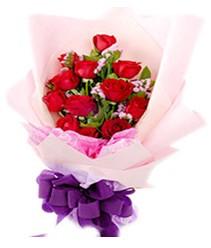 7 gülden kirmizi gül buketi sevenler alsin  Eskişehir çiçek gönderme sitemiz güvenlidir
