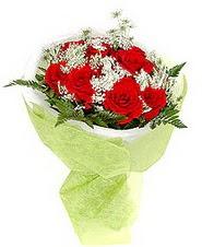 Eskişehir çiçek , çiçekçi , çiçekçilik  7 adet kirmizi gül buketi tanzimi