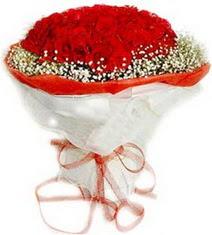 Eskişehir çiçekçiler  41 adet kirmizi gül buketi