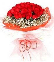 Eskişehir hediye sevgilime hediye çiçek  21 adet askin kirmizi gül buketi
